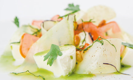 Pestoinen Mozzarella-perunasalaatti #1