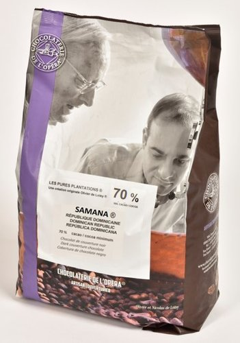 l'Opera SAMANA tumma suklaa 62% 2x5kg #1