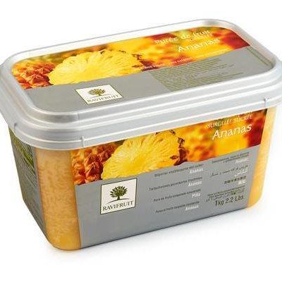 Multicatering Ravifruit ananaspyree 90% 1kg pakaste