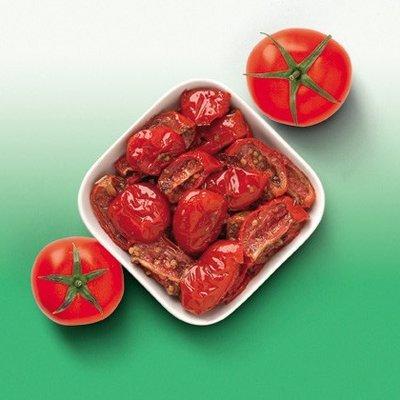 Multicatering Ista aurinkokuivattu punainen  tomaatti 1850g/1480g öljyssä pussisäilyke
