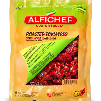 Multicatering Alfi puolikuivattu punainen tomaatti 1,7/1,4kg öljyssä  säilykepussi