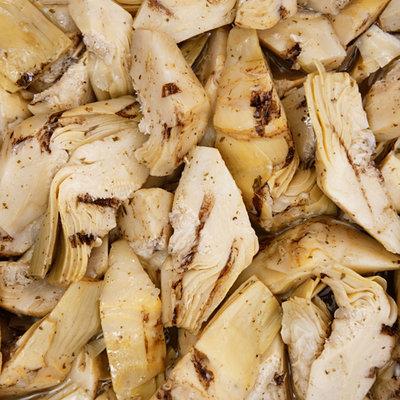 Multicatering Alfi grillattu artisokka 1/4 pala 1kg/800g öljyssä pussisäilyke