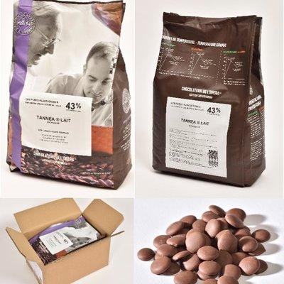 Multicatering Chocolaterie de l'Opera Mezzo maitosuklaa 38% 5kg