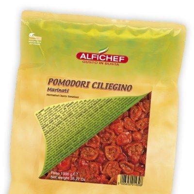 Multicatering Alfi puolikuivattu kirsikkatomaatti 1kg/800g öljyssä pussisäilyke