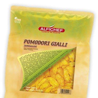 Multic Alfi 1000/800g  Keltainen puolikuivattu tomaatti öljyssä pss