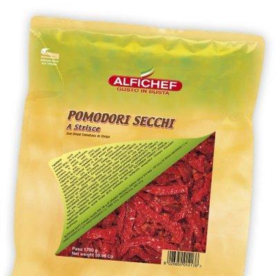 Multicatering Alfi Aurinkokuivattu tomaattisuikale 1,7/1,5kg säilykepussi