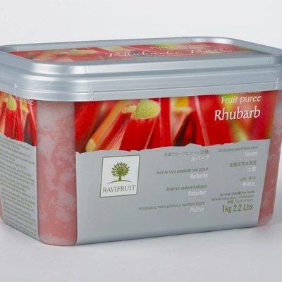 Multicatering Ravifruit raparperipyree 90% 1kg pikapastöroitu pakaste