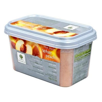 Multicatering Ravifruit persikkapyree 90% 1kg pakaste