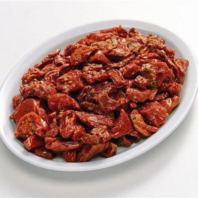Multicatering Alfi puolikuivattu punainen tomaatti 1,7kg/1,4kg öljyssä pussisäilyke