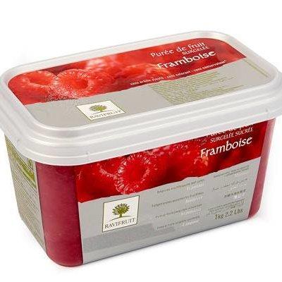 Multicatering Ravifruit Vadelmapyree 5x1kg pakaste