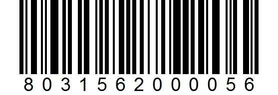 Viipaloitu Bresaola 500g viivakoodi