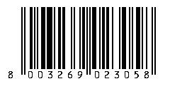 Multicatering Aprikoosicroissant 60x85g VEGAN pakaste viivakoodi