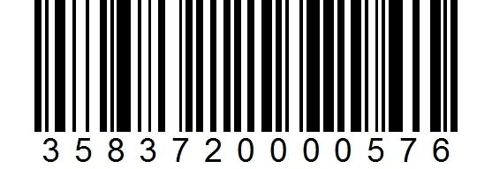Kanttarelli 3-5cm, 1000g viivakoodi