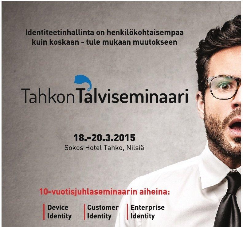 Jan Erikssonilla Puheenvuoro DISE:n Tahko Talviseminaarissa 18.3.2015