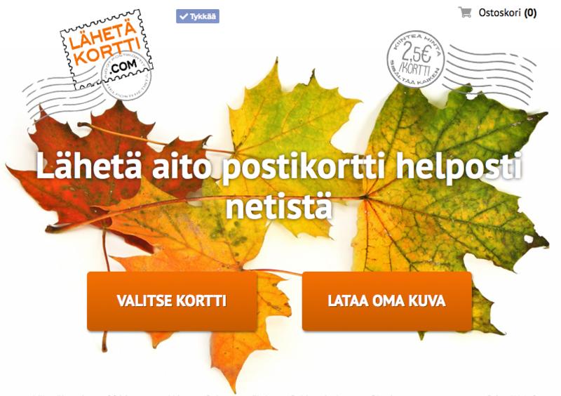 Laura Saarainen kertoo LähetäKortti.com palvelusta ja yhteistyöstä PrimeWebin kanssa