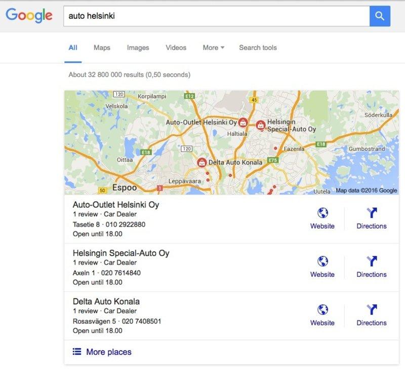 Miten Saada Kotisivut Näkymään Googlessa?: Kuva #4