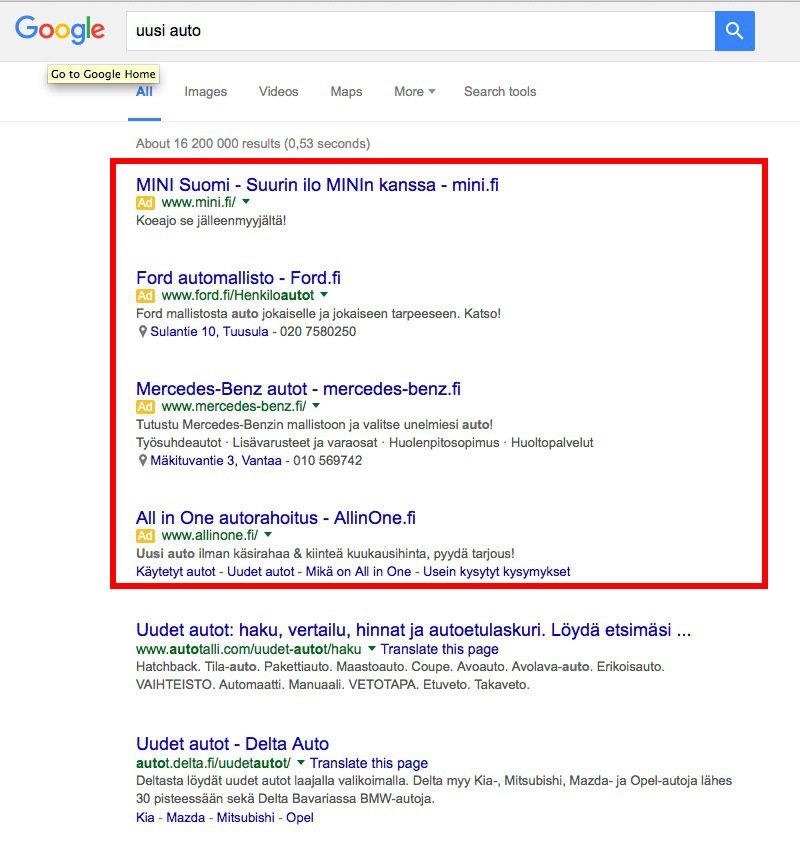 Miten Saada Kotisivut Näkymään Googlessa?: Kuva #3
