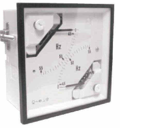 Panel Mount Frequency Counter : Fad n analog panel meter ° double frequency